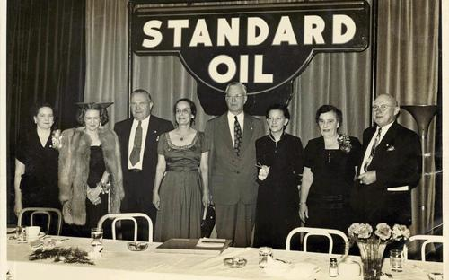 Carrie at Standard Oil Meeting